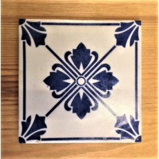 Wall Tile (Blue & White)