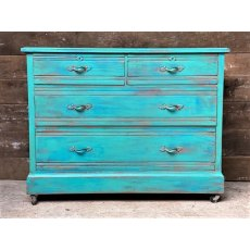 Edwardian Oak Chest of Drawers