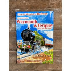 GWR Weymouth & Torquay Metal Sign