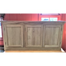 Oak 3 Door Wall Unit