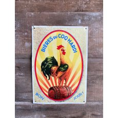Enamel Sign (Coq Hardi)