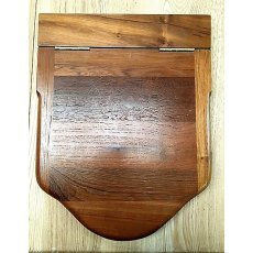 Hardwood Traditional Style Loo Seat