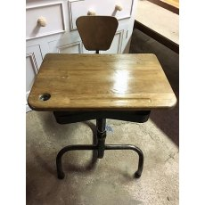 Funky 1950's French School Desk