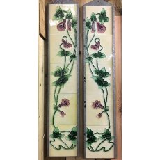 Fireplace Tile Set (Fox Gloves)