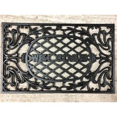 Cast Iron Door Mat (Welcome)