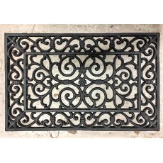 Cast Iron Door Mat (Swirl)
