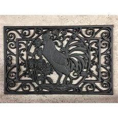 Cast Iron Door Mat (Cockerel)