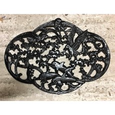 Cast Iron Door Mat (Birds & Dolphins)