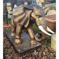 Cast Iron Elephant (Gold)