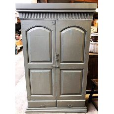 Grey teak Cupboard
