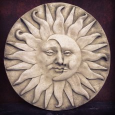 Sun & Moon Wall Plaque
