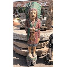 Wooden Standing Native American