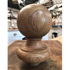 Carved Teak Finial