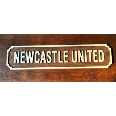 Wooden Sign (Newcastle United)