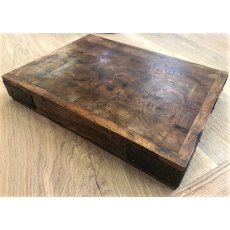 Teak Table-top Butchers Block