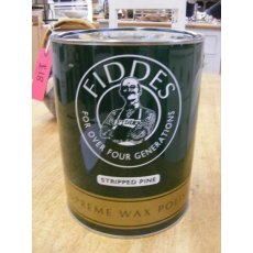 Fiddes Wax Polish (Stripped Pine 5ltr)