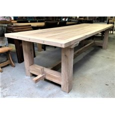 Rustic Oak Refectory Tables (3m)
