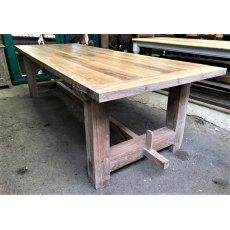 Rustic Oak Dining Tables (2.7m)