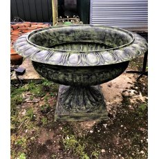 Very Large Cast Iron Urn