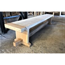 Rustic Oak Benches