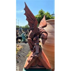 Imposing Dragon Roof Finial