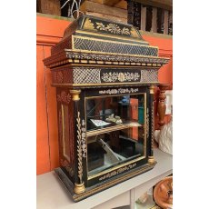Oriental antique cabinet