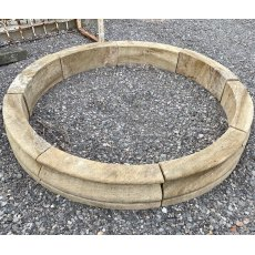 Round Stone Pond Surround