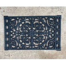 Cast Iron Door Mat (Floral)