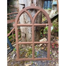 Cast iron window frame (rust)