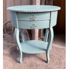 Vintage Victorian style sewing table