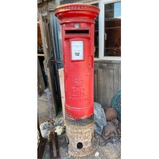 Original reclaimed late 60's postbox