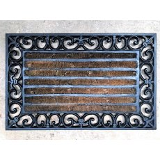 Cast Iron Door Mat (Brushed)