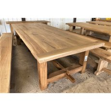Rustic Oak Refectory Tables (3m x 1.2m)