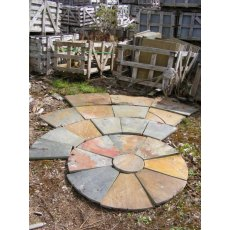 Patio Circle Kit (Rustic Slate)