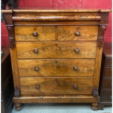 Victorian Mahogany large chest of drawers