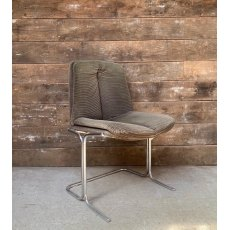 Set of 3 70's Pieff cantilever chairs