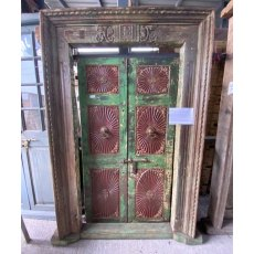 Reclaimed late 1800's Teak doors