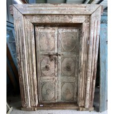 Beautiful reclaimed carved Teak doors