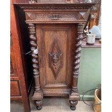 Vintage French Oak cabinet
