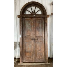 Reclaimed Teak glazed door