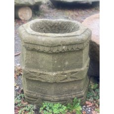Reclaimed Stone Octagonal Well Head