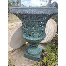 Cast Iron Decorative Urns