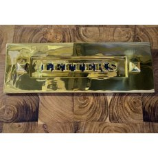 Brass Letter Plate (Letters)