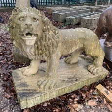 Weathered natural stone Lion