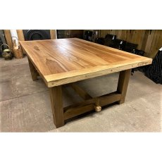 Rustic Oak Refectory Tables (2.1m x 1.3m)
