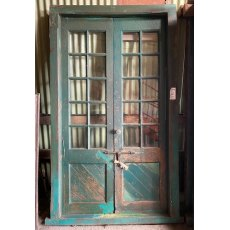 Old Teak school doors