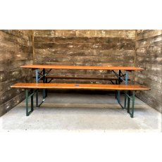 Vintage Beer Festival Tables & Benches