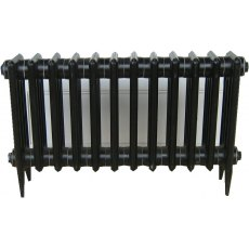 Victorian plain short cast Iron radiator