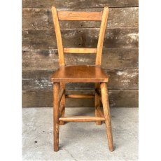 Hardwood Chapel Style Chair