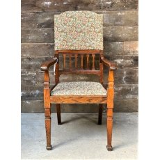 1940's Oak Framed Armchair